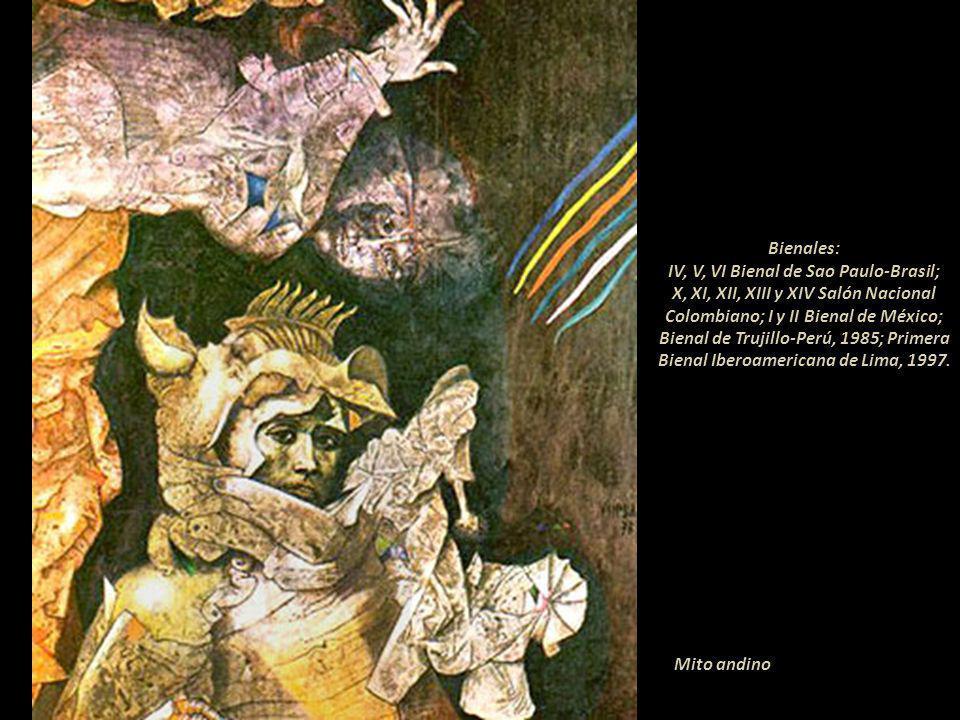Arcano Está considerado como un colombiano más y como uno de los seis artistas más destacados de ese medio; representó a ese país en numerosos certáme