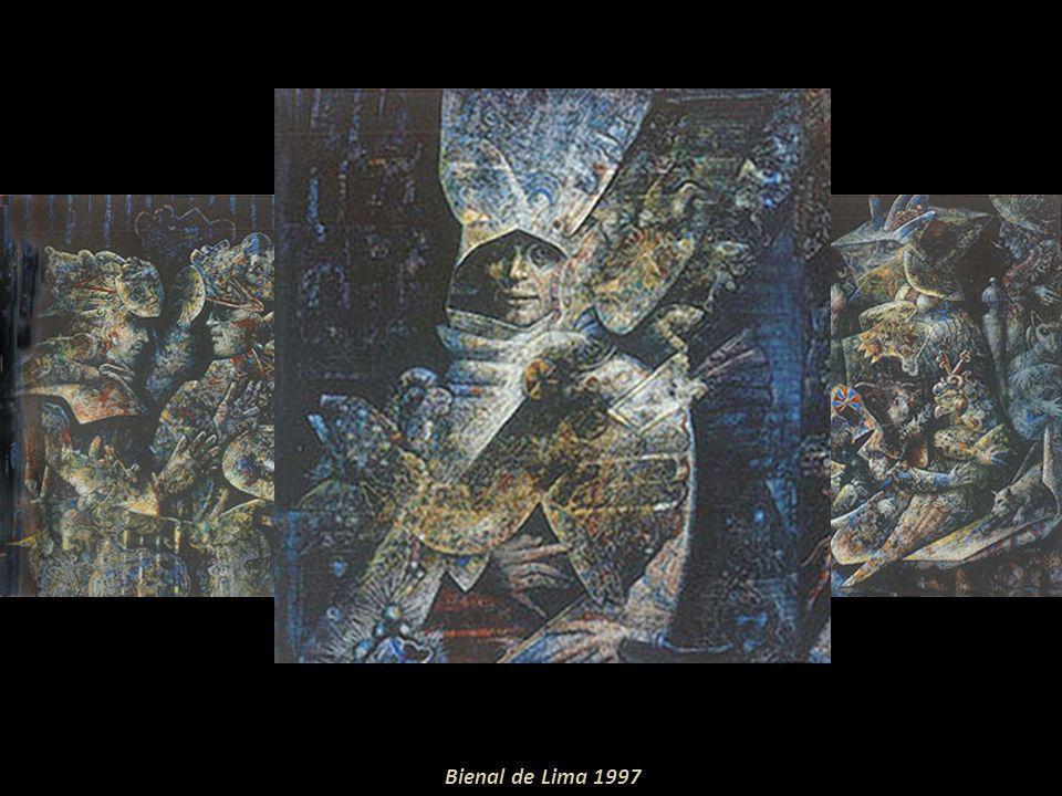 Bienales: IV, V, VI Bienal de Sao Paulo-Brasil; X, XI, XII, XIII y XIV Salón Nacional Colombiano; I y II Bienal de México; Bienal de Trujillo-Perú, 19
