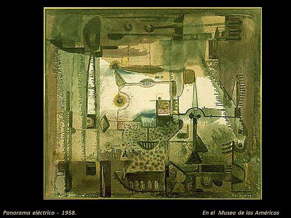 Panorama eléctrico - 1958. En el Museo de las Américas