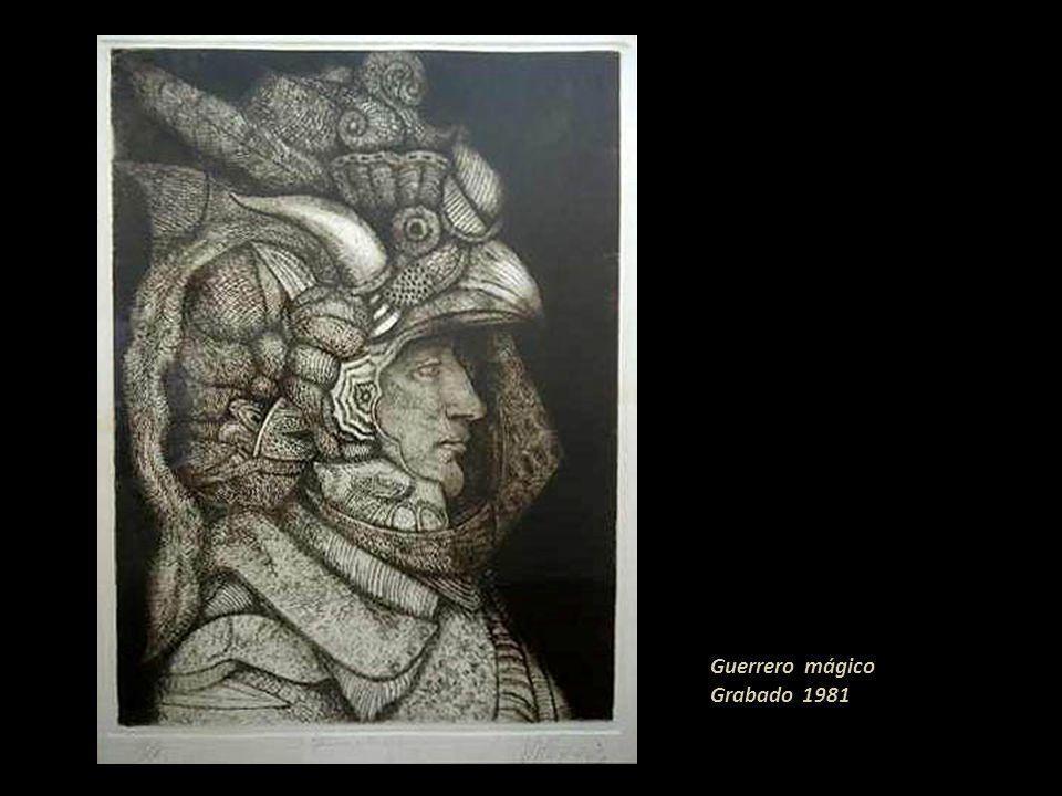 Guerrero mágico Grabado 1981