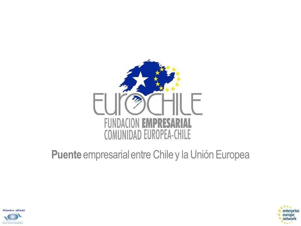 Miembro afiliado: Puente empresarial entre Chile y la Unión Europea