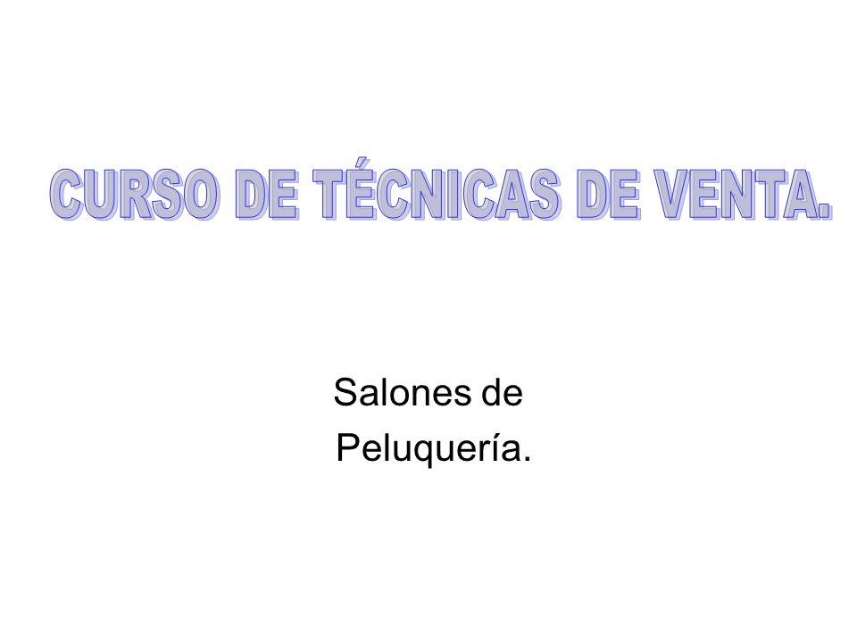 Salones de Peluquería.