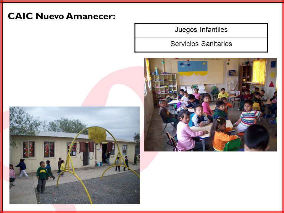 CAIC Rancho Grande Viejo: Juegos Infantiles