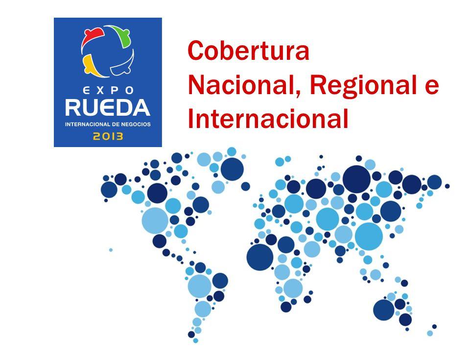 Cobertura Nacional, Regional e Internacional