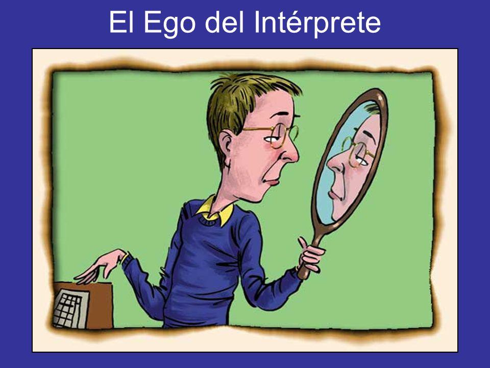El Ego del Intérprete