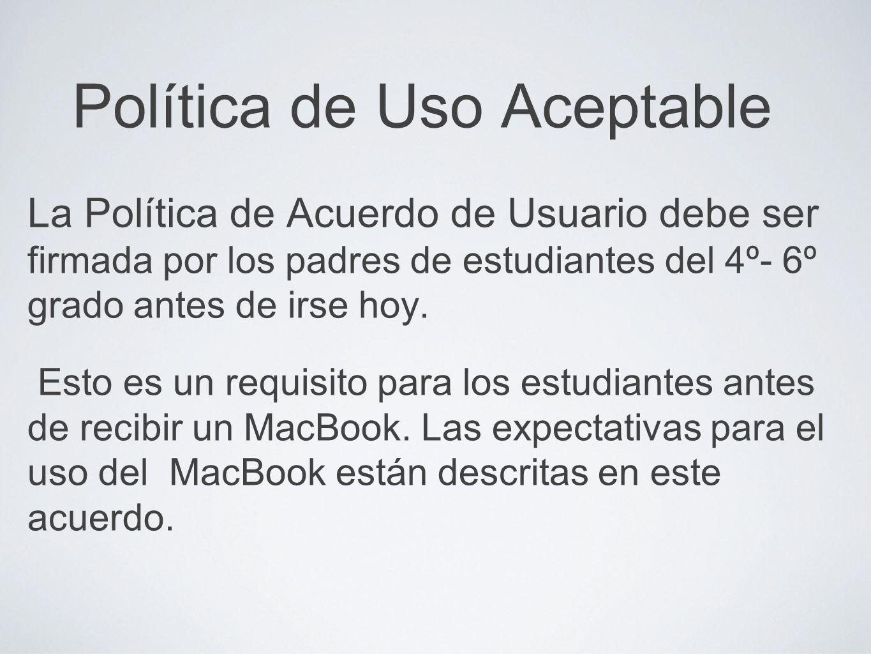 Disciplina El MacBook que se le está dando su niño debe ser visto como un instrumento para el aprendizaje, al igual que un libro de texto.