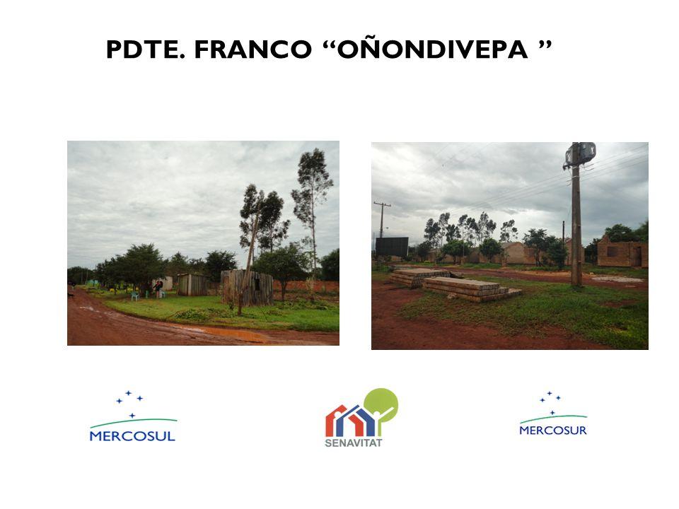 PDTE. FRANCO OÑONDIVEPA
