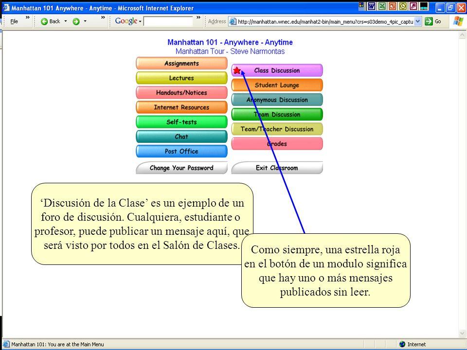 Si haces clic en el signo + al lado del tópico, el tópico se expande para mostrar todos los mensajes/respuestas asociadas con ese tópico.