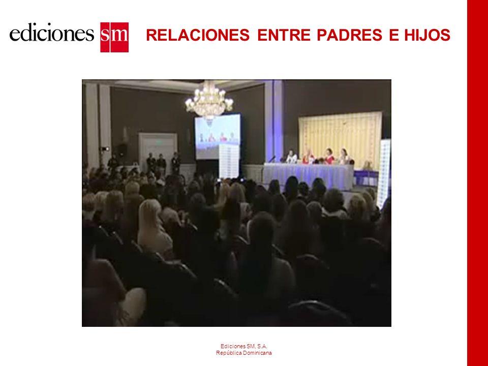 ELEMENTOS ASOCIADOS A LOS ESTUDIANTES: Ediciones SM, S.A. República Dominicana PersonalidadCaracterísticas personalesCaracterísticas familiares Expect