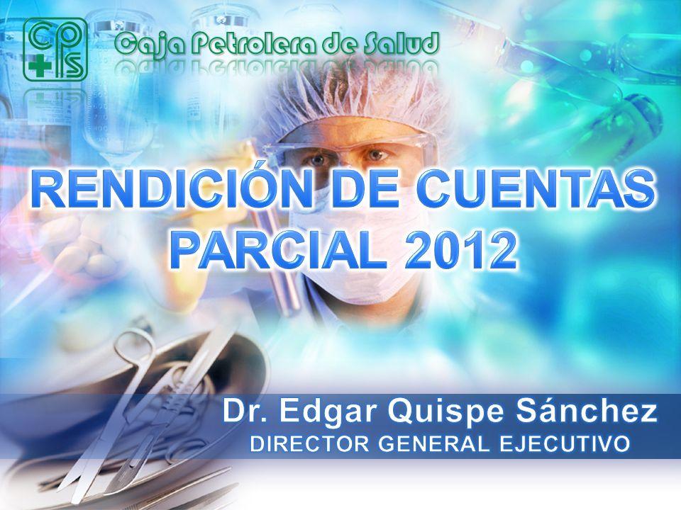 RENDIMIENTO MEDICO EN CONSULTA EXTERNA FUENTE: Estadísticas - CPS