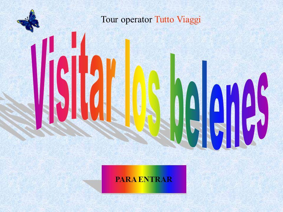 PARA ENTRAR Tour operator Tutto Viaggi