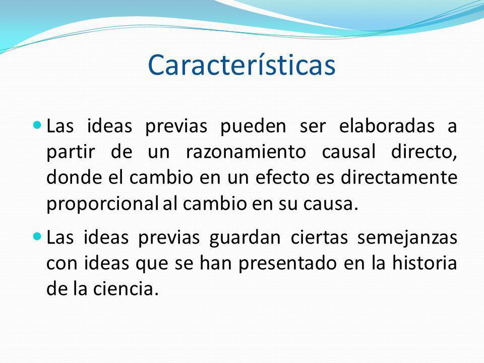 CONCLUSIÓN Una educación científica que no tiene en cuenta las ideas previas de los alumnos, tanto antes como después del aprendizaje, constituye decididamente a su mantenimiento.