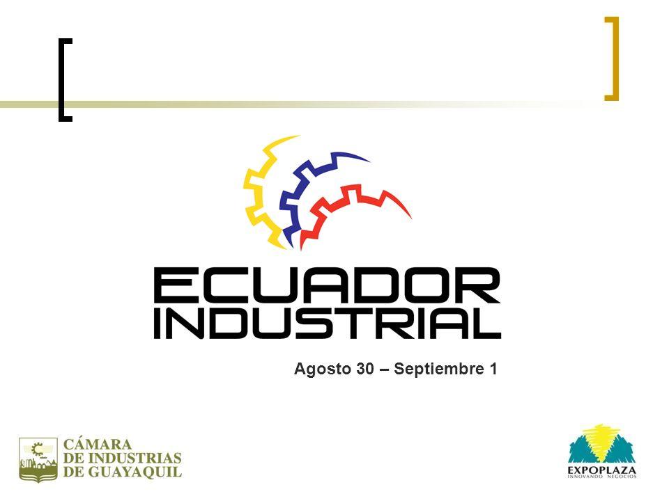 ANTECEDENTES La Cámara de Industrias de Guayaquil y Expoplaza realizarán la Feria de COMPRADORES o a la INVERSA, como un innovador mecanismo que facilite la inclusión de cadenas de valor productivo entre grandes compradores privados y públicos con las micro, pequeñas y medianas empresas nacionales.