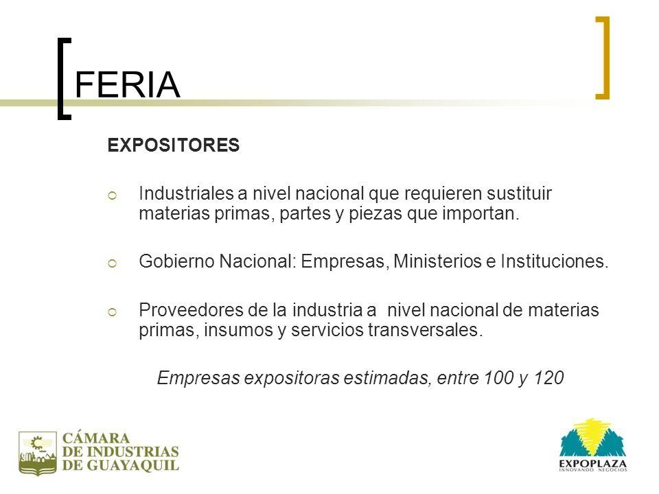 VISITANTES Pequeños y Medianos Empresarios, Industriales, Artesanos y Emprendedores con capacidad de proveer productos y servicios para la industria.