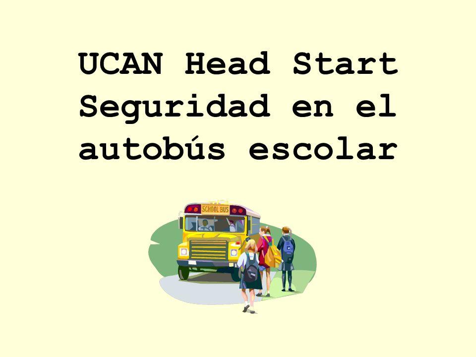 UCAN Head Start Seguridad en el autobús escolar