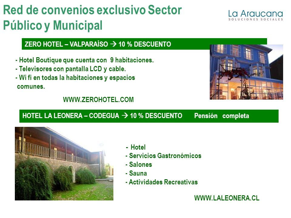 ZERO HOTEL – VALPARAÍSO 10 % DESCUENTO - Hotel Boutique que cuenta con 9 habitaciones. - Televisores con pantalla LCD y cable. - Wi fi en todas la hab