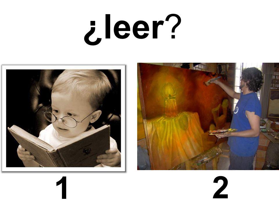 1 2 ¿leer?