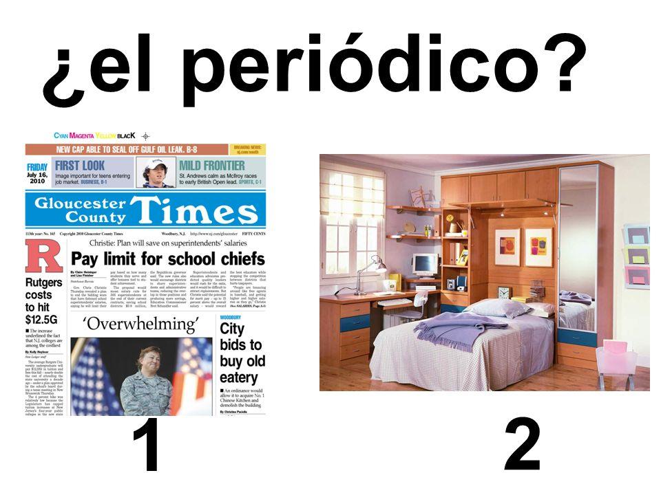 1 2 ¿el periódico?