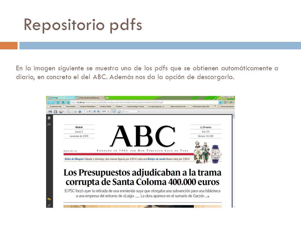 En la imagen siguiente se muestra uno de los pdfs que se obtienen automáticamente a diario, en concreto el del ABC.
