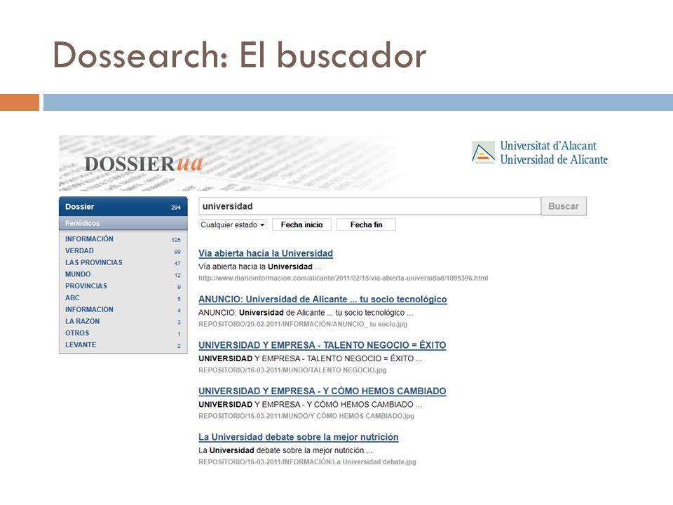 Dossearch: El buscador