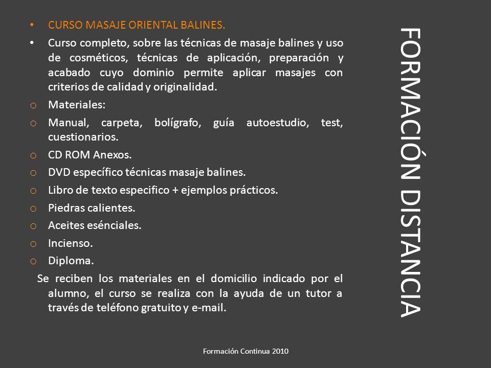 FORMACIÓN DISTANCIA CURSO HIGIENE Y SEGURIDAD APLICADAS A LA PELUQUERIA Y ESTETICA.