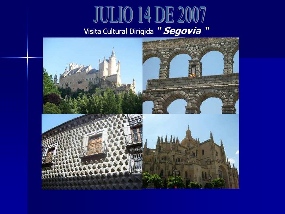 Visita Cultural Dirigida Segovia