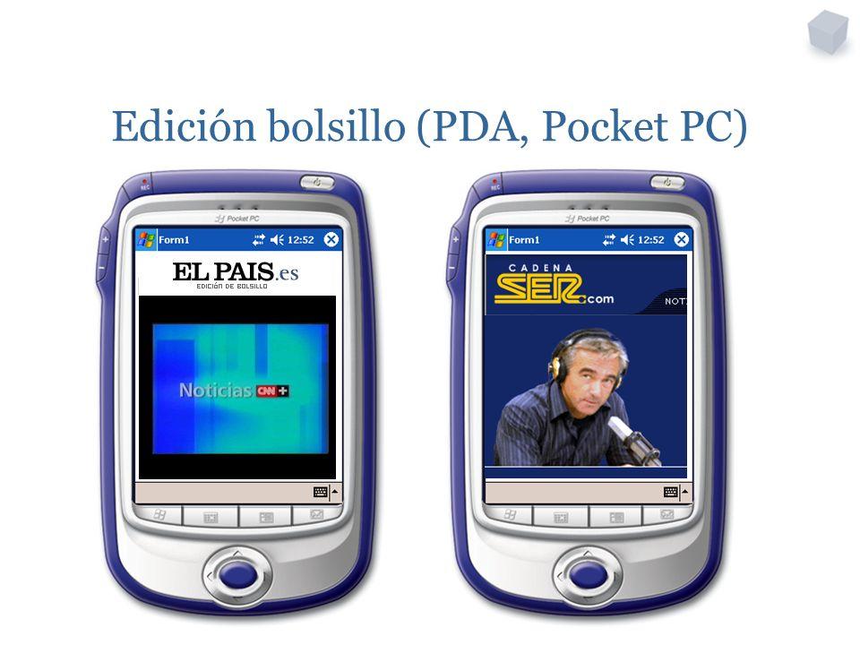 Edición bolsillo (PDA, Pocket PC)