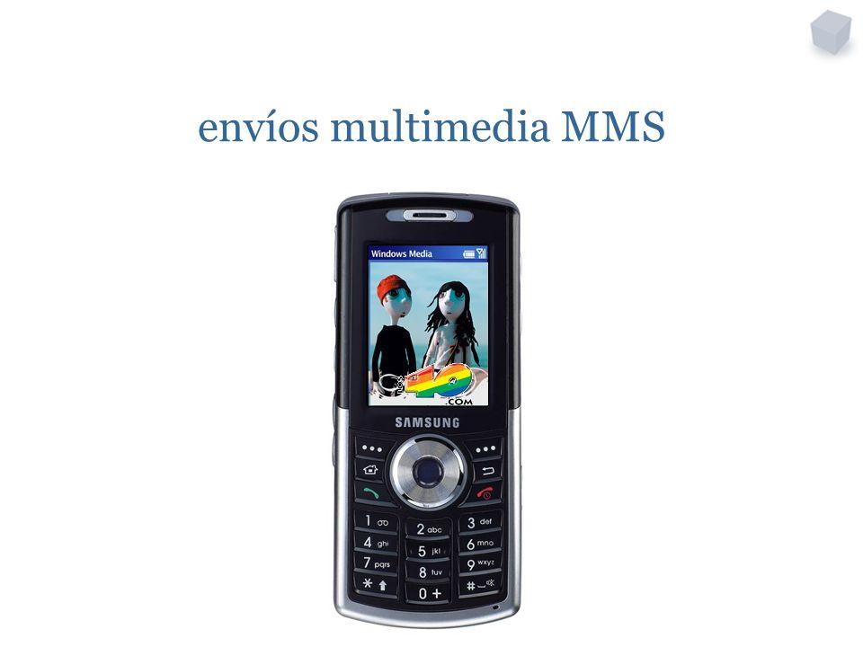 envíos multimedia MMS