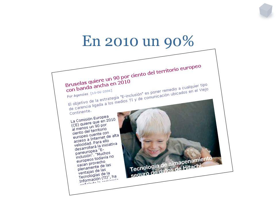 En 2010 un 90%