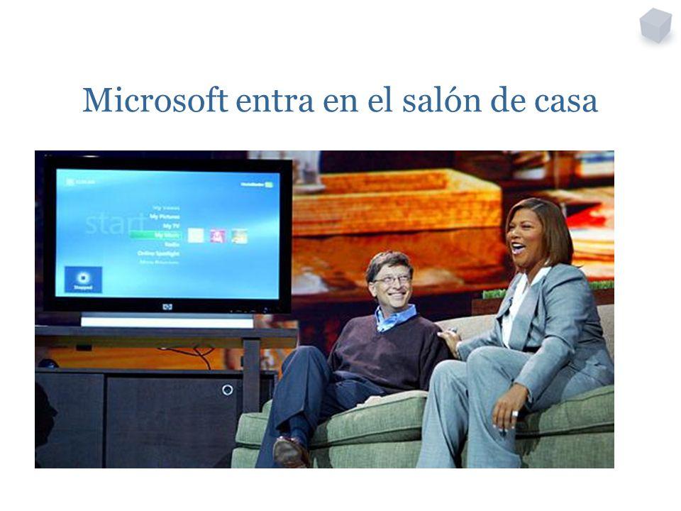 Microsoft entra en el salón de casa