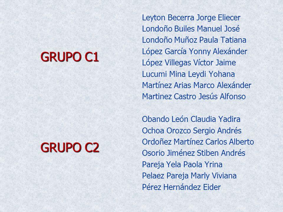 Leyton Becerra Jorge Eliecer Londoño Builes Manuel José Londoño Muñoz Paula Tatiana López García Yonny Alexánder López Villegas Víctor Jaime Lucumi Mi