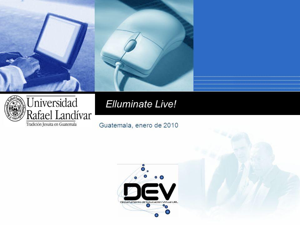 Company LOGO Elluminate Live! Guatemala, enero de 2010