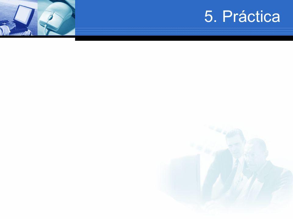 5. Práctica