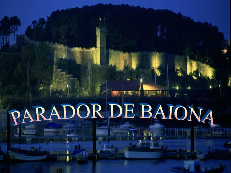 UBICACIÓN El hotel Parador de Baiona se encuentra en Galicia, dentro de la fortaleza amurallada de Monte Real, protegido por el mar.