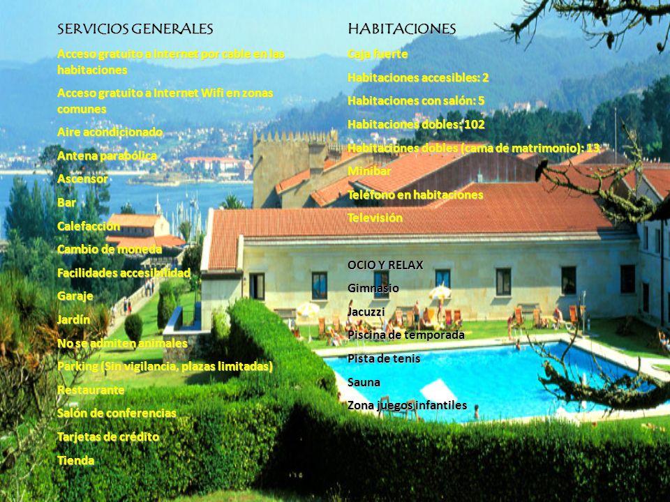 HABITACIONES ÚNICAS El Mirador del Rompeolas Es una de las habitaciones más grandes del hotel.