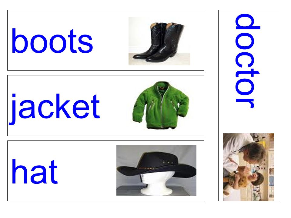 boots jacket hat doctor