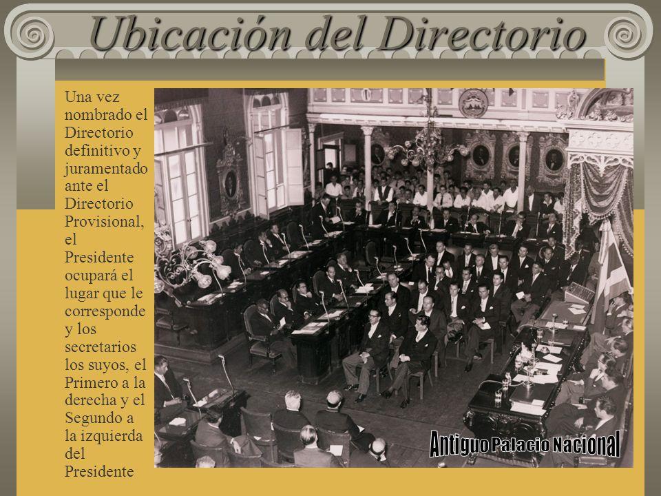 Protocolo de instalación De pie todos los y las diputadas, la o el Presidente expresará: La Asamblea Legislativa queda instalada y abre las sesiones d