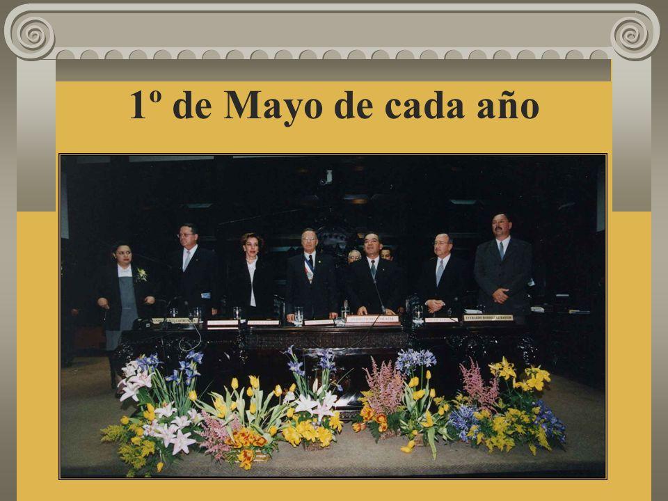 1º de Mayo de cada año
