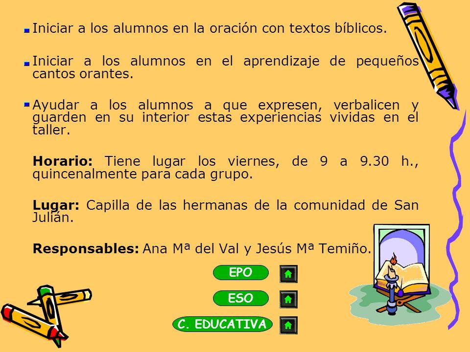 Concurso Religioso Escolar Propuesta de la diócesis de Burgos con un doble objetivo: Estimular el conocimiento del Hecho Religioso Cristiano.
