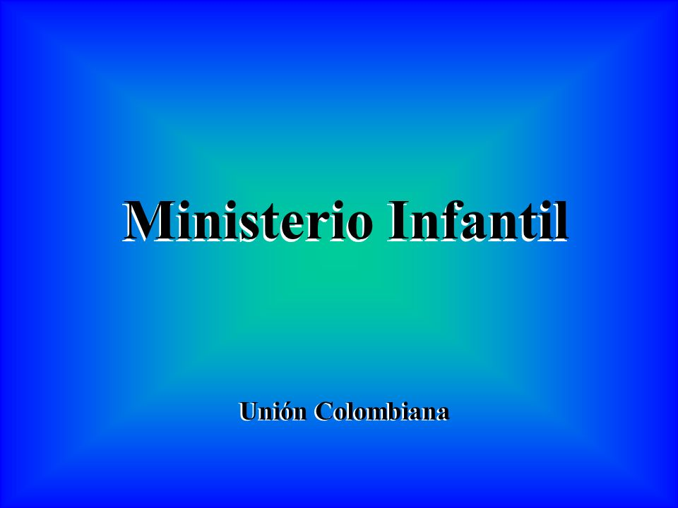 Ministerio Infantil Unión Colombiana