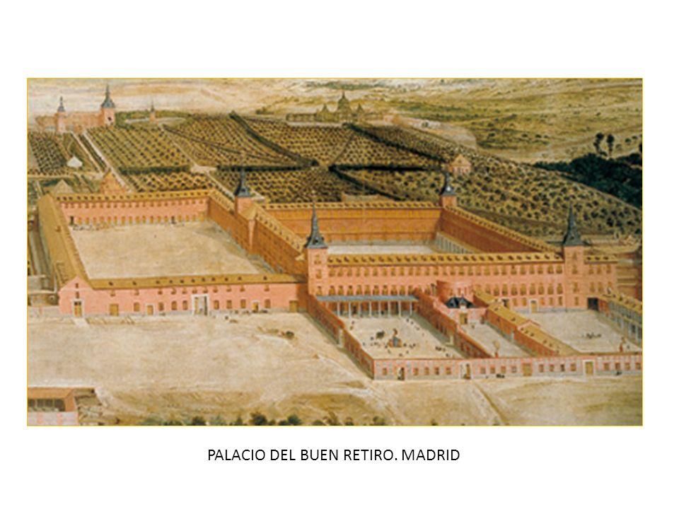 PALACIO DEL BUEN RETIRO. MADRID