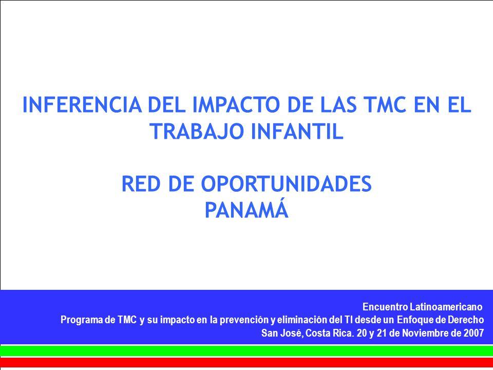 Encuentro Latinoamericano Programa de TMC y su impacto en la prevención y eliminación del TI desde un Enfoque de Derecho San José, Costa Rica. 20 y 21