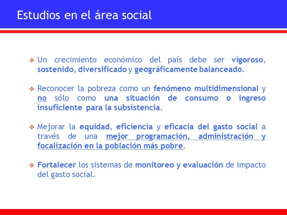 Reducción de la pobreza con que políticas de estado sostenidas con continuidad en el tiempo, que reconozcan y garanticen los derechos sociales a través de servicios y beneficios públicos tanto universales como focalizados que se distribuyen con criterios de equidad e igualación de oportunidades sociales.