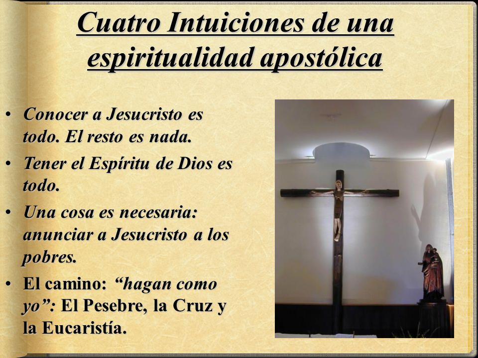 ConocerConocer a Jesucristo es todo. El resto es nada. TenerTener el Espíritu de Dios es todo. UnaUna cosa es necesaria: anunciar a Jesucristo a los p