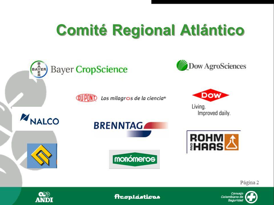 Página 2 Comité Regional Atlántico