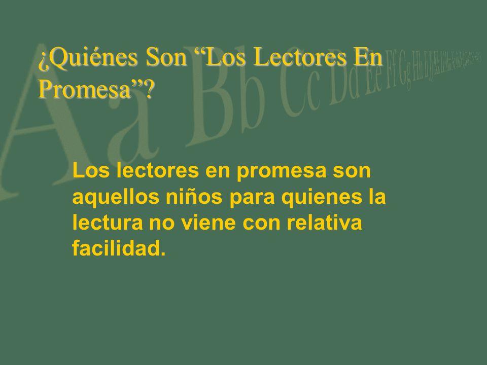 ¿Quiénes Son Los Lectores En Promesa.