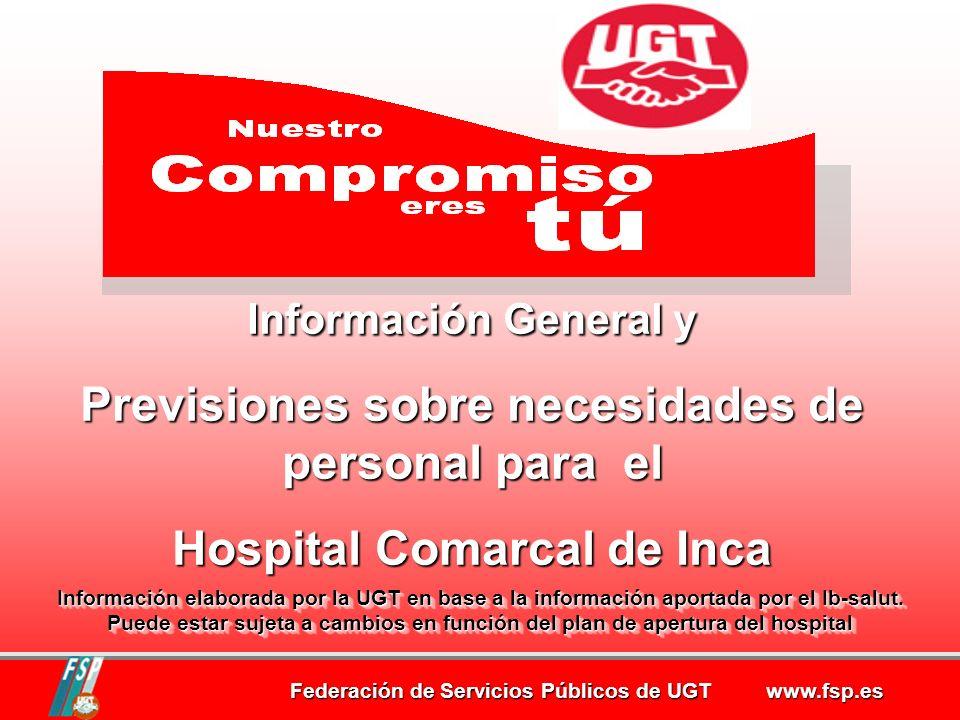 Federación de Servicios Públicos de UGT www.fsp.es