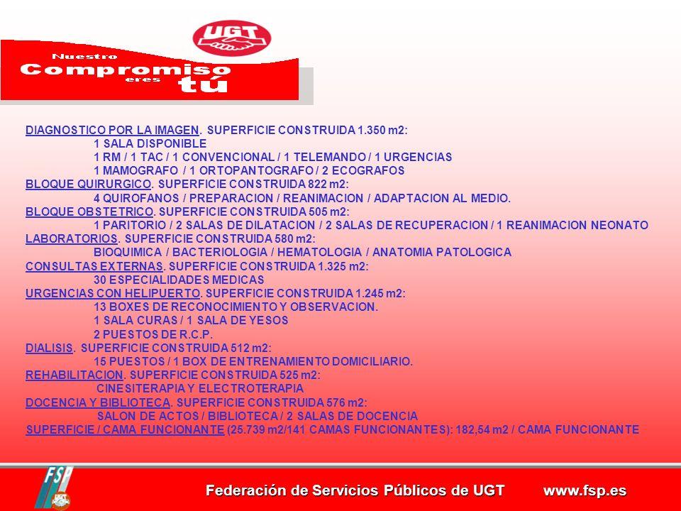 Federación de Servicios Públicos de UGT www.fsp.es Previsiones sobre Recursos Humanos