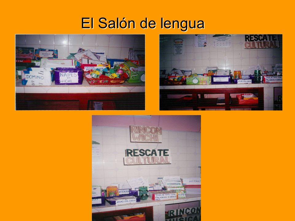 El Salón de lengua