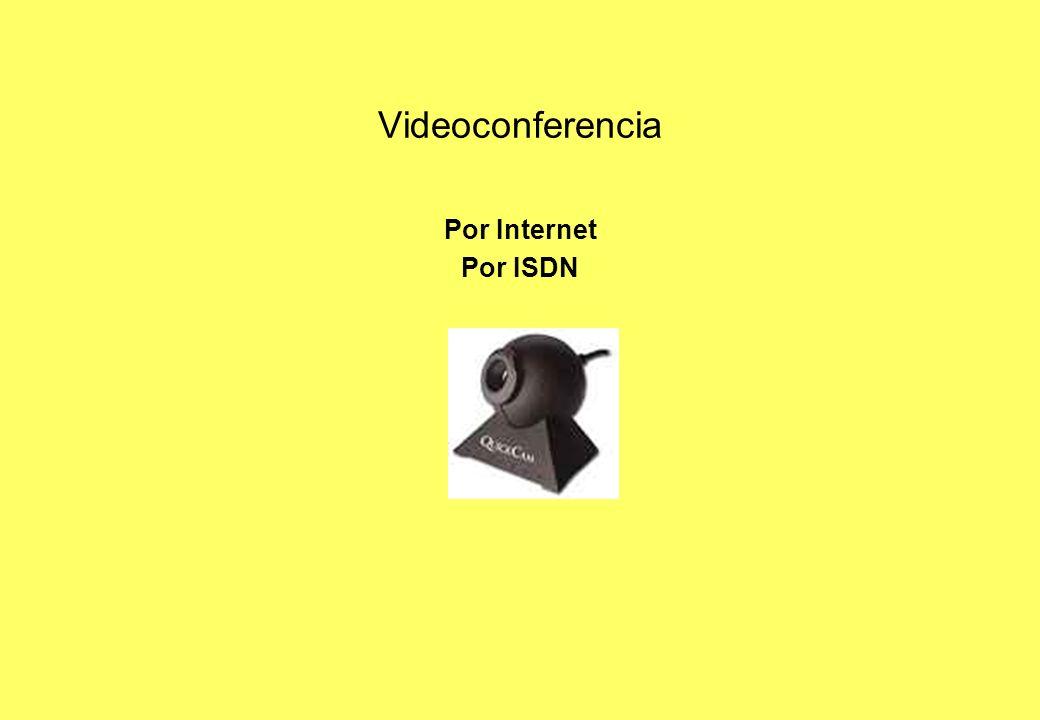 Por Internet Por ISDN